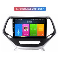 Doble Din Din Android Touch Screen DVD Player para Jeep Cherokee 2014-2017