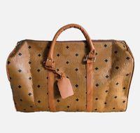 Erkekler Lüks Kadın Seyahat Çantaları PU Deri Duffle Marka Tasarımcısı Bagaj Çanta Büyük Kapasiteli Spor Çanta