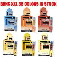 Cigarettes Bang XXL Vapes Fast Ship 36 Couleurs Package Jetable Vape Pen Kit plus XL Puff Air Bar Flow 2000 Puffs 6ml Capacité Vaporisateur de batterie