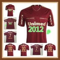 Fluminense 2011 2012 Jersey de futebol retrô 11 12 deco Lanzini Rafael Sobis Thiago Neves Fred Vintage Camisa de futebol clássico