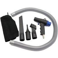مكنسة كهربائية ارتفاع ضغط الهواء المنفضة ضاغط ضربة / شفط نوع أداة التنظيف الهوائية توفير الطاقة