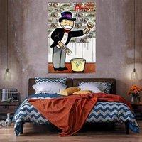Денежные краски огромные масляные живописи на холсте домашний декор Hear Picteainted / HD-печать настенные изображения настроенную настроек допустимы 21050730