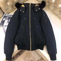 Золотая тег мужская куртка вниз пальто ветровка толщиной теплый с капюшоном мода мужская зимняя лосей пальто с большим меховым воротником Высококачественные белые куртки утки