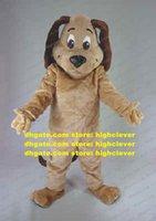 Tan Dog Basset Dogs Beagle Guund Cocker Spaniel Талисман костюм для взрослых мультипликационный персонаж Добро пожаловать Доброе Детская программа ZZ7618