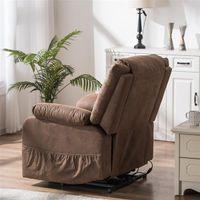 غرفة المعيشة أثاث نوع ج وظيفة رفع الكرسي الكهربائية مع تدليك ضوء بو المزيج بو