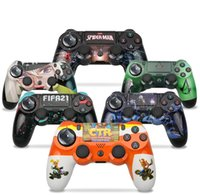 Colorful Bluetooth Wireless Game Consol For PS4 Joystick Gamepad Games Handle Controller Play Station Without Logo With Retail Box