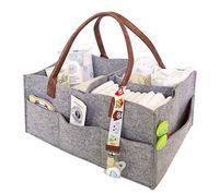 Baby Diaper Bag Foldable Storage Bag Portable Lightly Newborn Mummy Out Portable Foldable Felt Diaper Storage Felt Bags