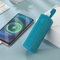 TG807 portátil Bluetooth Sem Fio Baixo Baixo Fone de Ouvido Ao Ar Livre Fonte de Alimentação Móvel Stereo Loudspeaker Caixa de Música Suporte Usb TF Cartão