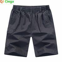 Männer verlieren Größe Sommer Shorts Mode Lässige Strand Hosen Fracht-Stil Sport Jogging Hosen 5XL QJ Cinga 802
