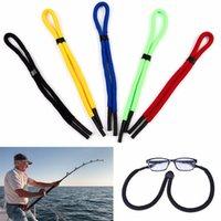 28.7inch float óculos de sol cordão lâmpada tecelagem fio de pescoço cordão multi cor cinta de óculos acessórios acessórios de pesca
