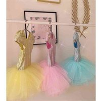 Mermaid Pullu Glittery Çocuk Mayo Kısa Kollu Patchwork Kabarcık Etek Şeker Renk Tek Parça Kızlar Prenses Mayo Plaj Açık Yüzme Takım Elbise G67Z443