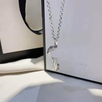 Модные ключевые ожерелье 925 посеребренное ожерелье пару ожерелье взаимодействие Ожерелья высокого качества ювелирных изделий оптом