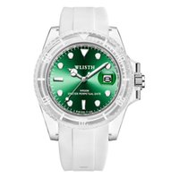 WLISTH Brand Quartz Cool Womens Watch Silicone Strap Ladies Watches Luminous Calendar Female Students Unique Girls Wristwatches Modern Style