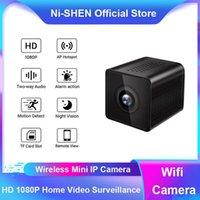 WiFi sans fil Mini caméra Night Vision Sécurité Vidéo Surveillance Moniteur Télécommande Détection de mouvement Mirco Caméscope IP Caméras IP