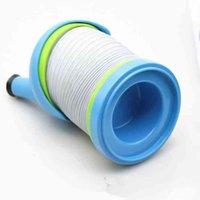 Tubi di plastica creativa Caterpillar Tubi Gonfiatore flessibile telescopico