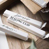 Bag Clips Plastic Food Sealing Clip Gadgets Inteligentes Bolsa Comida Trabajo Home Kitchen Storage Organization Tools