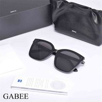 Gafas de sol de moda gafas de gafas de gafas gabientadoras gaboso acetato de acetato de acetato polarizante UV400 lentes de lentes marco de gafas para