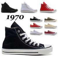 Schuhe Converse 1970s Freizeitschuhe Plattform Herren Damen Luxus Marke Designer Sneakers Alle Schwarz Weiß Grün Rot Herren Damen Ochsen Trainer im Freien