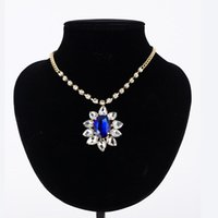 Luxury Flower Decoration Choker Necklace For Women Charming Dress Accessory Wedding Perfect Party Adjustable N125 Chains