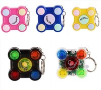 Decompression fingertip toys, educational toys memory game handheld mini consoles pressure release keychains children and adults