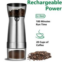 Electric Coffee Grinders USB Grinder Stainless Steel Adjustable Professional Bean Mill Machine Kitchen Tools