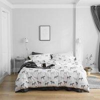 Bedding Sets 100% Tencel Silk Set Comforter For Spring&Summer Bed AB Side Pillowcases Duvet Sheet Cover Zebra