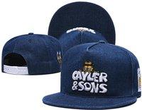 Snapbacks Ball Hats Fashion Street Headwear Formato regolabile Cayler Sons Custom Football Baseball Caps Drop Ship Top Quality A92