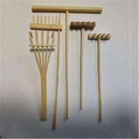 Decorative Objects & Figurines 5 Style Mini Bamboo Rake For Zen Garden Sand Tabletop Meditation Feng Shui Decor