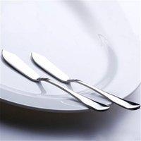 أدوات الجبن الفولاذ المقاوم للصدأ أواني السكاكين زبدة سكين الحلوى مربى الموزر أداة الإفطار AHD5979