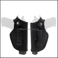Inner Belts Equipment Gear2 Material Tactical Left Right Hand Concealed Carry Holsters Belt Metal Clip Adjustable Pistol Universal Gun Holst