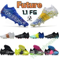2022 Futuro 1.1 FG Legais de Futebol Homens Sapatos de Futebol Preto Branco Multi Bluemazzing Amarelo Alerta Deep Volt Mens Designer Sports Sneakers