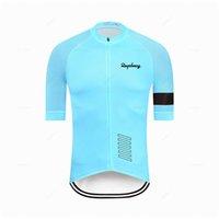 Erkek Giyim Giyim Daha iyi Raphaing Gökkuşağı Takımı Areo Bisiklet Jersey Kısa Kollu Bisiklet Giysileri Yaz MTB Yol Bisikleti Gömlek H1020
