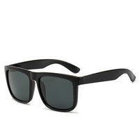 Moda clásica actitud gafas de sol oro marco cuadrado metal estilo vintage modelo clásico al aire libre 1lds