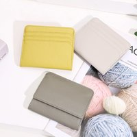 Trade Style Mini Wallet Female Leather Inslogo New Bag Wallet Foreign Japanese Female Short Wallet Coin Small Style Rohtd