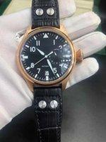 Yüksek Kaliteli Gül Altın erkek Saatler Kinetik Enerji Ekran Otomatik Hareketi Mekanik İzle Dana Kayışı Paslanmaz Çelik Casual Saatler Kutusu Çantası