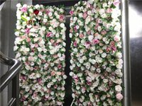 3Deffects Mix Plant Flower Wall Mats Artificial Florals Rose Panel For Yoga Shop Decoration Decorative Flowers & Wreaths