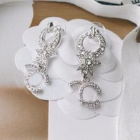 Top Quality Cubic Zirconia Stud Earring Luxury Designer Fashion Earrings for Mother and Women Jewelry with Box LA1250