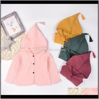 Sets Clothing Baby, & Maternityborn Boy Clothes Toddler Infant Baby Kids Girls Boys Solid Warm Hooded Coat Outfits Girl1 Drop Delivery 2021 J
