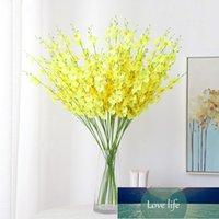 Oncidium Hybridum Künstliche Blume Seide Blume Dekoration Fotografie Requisiten Wohnzimmer Schlafzimmer Hudielan Gefälschte Blume
