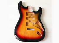 Factory Outlet-Tobacco Sunburst Poplar Electric Guitar Body,High Cost Performance