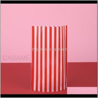 Wrap Wedding Favors Cute Bow Tie Stripe Cookie Gift Bags For Candy Biscuits Snack Baking Package Event Party Supplies Wmtadf Hflot Zmyuf