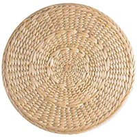 Pcs Natural Weave Placemats Round Braided Rattan Tablemats F...