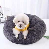 Kennels Penne Dants Letto per cani per inverno caldo mantenimento cuscino lungo peluche morbido soffice comodo animali domestici kennel gatti divano tappetini indoor grande hou
