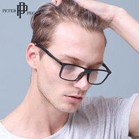 직사각형 안경 남자 프레임 광학 빈티지 여성 패션 투명 렌즈 처방전 myopia 안경 선글라스