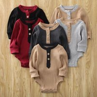 Baby & Children's Born Toddler Boy Romper Long Sleeve Patchwork Sunsuit Outfit Clothes Playsuit Clothing Jumpsuits