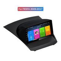 2G + 32G 쿼드 코어 9 인치 안드로이드 10 자동차 DVD 플레이어 Ford Fiesta 2009-2017 탐색 GPS 자동 라디오 BT