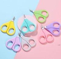 Bambini per unghie forbici brevi per bambini chiodi per la cura delle cerai per la cura della sicurezza della sicurezza dell'acciaio inossidabile di sicurezza OWC7237