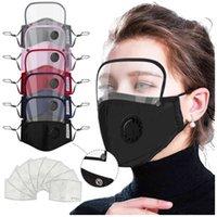 Protección del dispositivo con la válvula de respiración PM2. 5 máscara Ojo de lavado desmontable