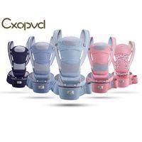 Babypratie Taille Hocker Horizontale Front Holding Multifunktionale Kinder Four Seasons Universal Back Carriers, Slings Rucksäcke