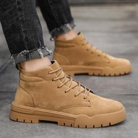 Boots Leather Informales Man Spring 2021 Sports Mens Casual Cuero Dress Boty Botas Sapato Shoe Coturno For Work Shoes Causal On